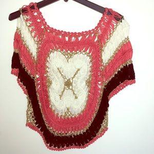 Crochet . Gold threading for sale
